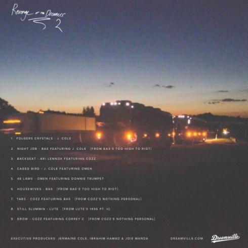revenge-dreamers-tracklist